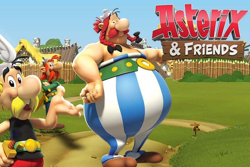 asterix and friends игра