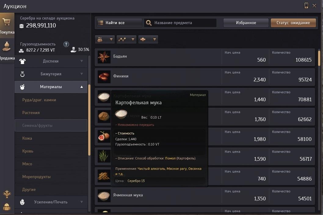 Гайд по кулинарии в Black Desert Online (БДО)